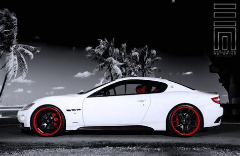 maserati granturismo white black rims lightweight rims for maserati giovanna luxury wheels