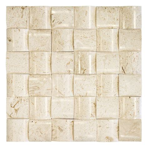 Jeffrey Court Mosaic Tile by Jeffrey Court Patchwork 11 1 2 In X 11 1 2 In X 15 Mm