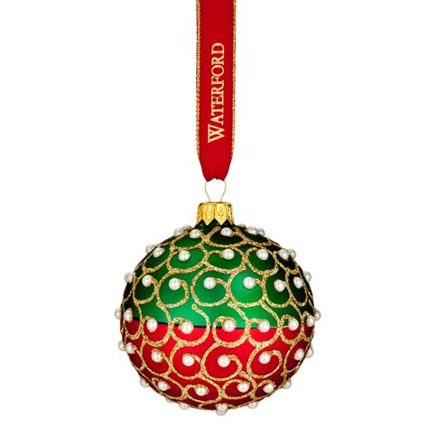 waterford pearl pillow ornament 2016 heirlooms pearls ornament by waterford