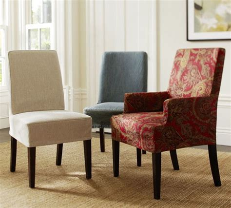 Dining Room Chair  Ee  Slipcovers Ee   For On Budget Re Decoration