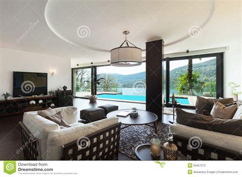 interior luxury living room stock photo image