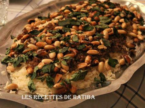 cuisine de ratiba recettes de riz de ratiba