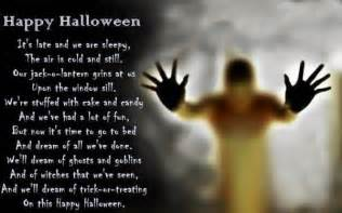 Scary Poems About Halloween by Halloween Poems For Adults Happy Halloween Poems