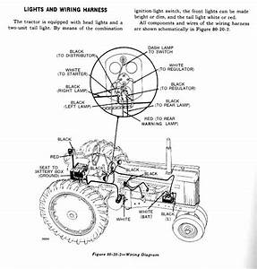 John Deere 3020 Wiring Harness