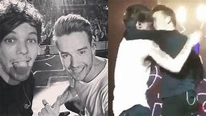 Liam Payne and Louis Tomlinson Almost KISS & New Solo ...