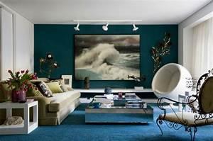 Idee Deco Peinture Salon : la meilleure id e peinture salon en 40 images ~ Preciouscoupons.com Idées de Décoration