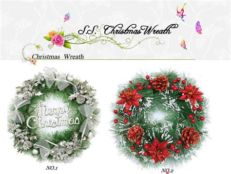 wholesale artificial christmas wreaths buy christmas