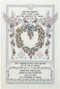 Wedding Doves - Cross Stitch Kit