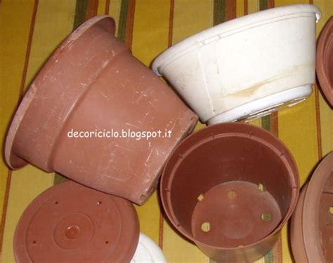 vasi di plastica per piante decoriciclo decorare i vasi per le piante