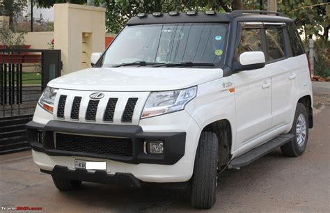 mahindra tuv official review page  team bhp