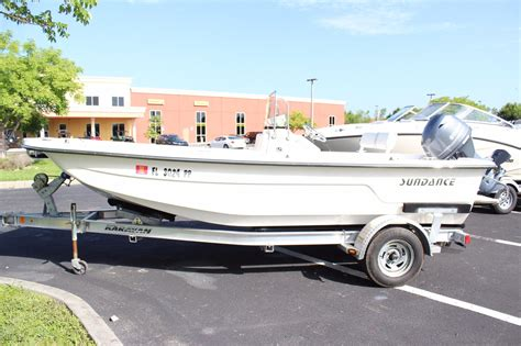 Used Sundance Boats by 2013 Used Sundance B18cc Saltwater Fishing Boat For Sale