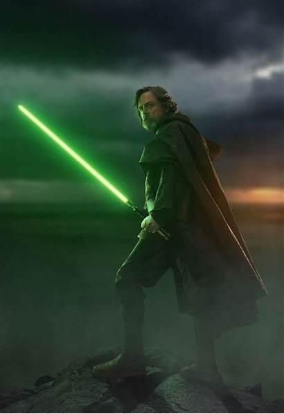 Luke Skywalker Jedi Wars Lightsaber Star Last