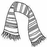 Scarf Drawing Coloring Colouring Scarves Striped Drawings Knit Printable Draw Play Stuff Theater Picolour Knitting Getdrawings Paintingvalley Knitted sketch template
