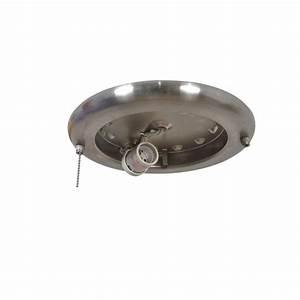 Ceiling fan light kit repair : Air cool metarie in brushed nickel ceiling fan