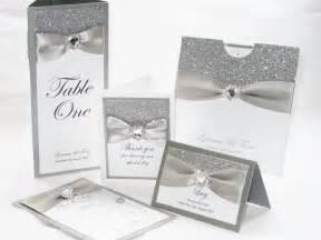 wedding invitations sets silver glitter wedding stationery set bodas