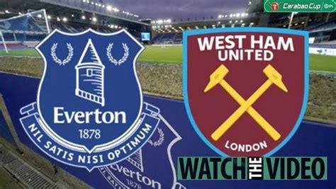 Is Everton vs West Ham on TV - Channel, live stream, kick ...