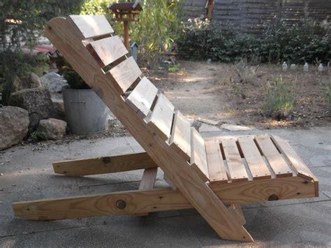 chaise de jardin en bois 22 meubles à faire avec des palettes en bois