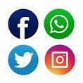 Facebook, Twitter and Instagram logo | Custom-Designed ...