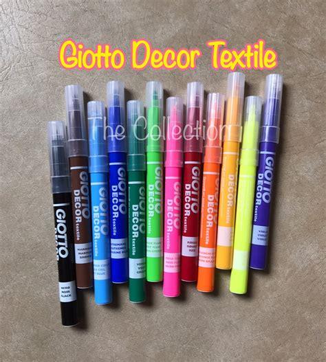 Kain Kanvas By Utama Textile jual atk0472gt satuan spidol giotto decor textile kain