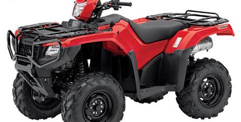 2015 Honda Rubicon To Boast Irs