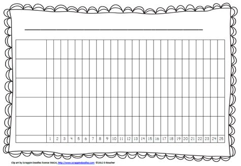 bar graph template more options for daily graphing math coach s corner