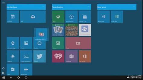 work  tiles  pin apps   start screen