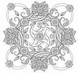 Coloring Paisley Pages Mandala Square Printable Adult Deviantart Abstract Flower Para Adults Easy Mandalas Pattern Dibujos Books Sheets Colorear Bordar sketch template