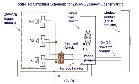 z wave curtain module wiring diagram z wave network