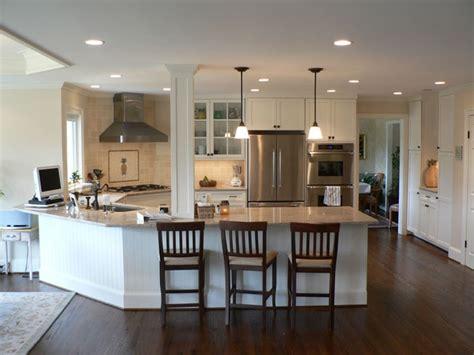 cuisiner maison great peninsula transitional kitchen designs