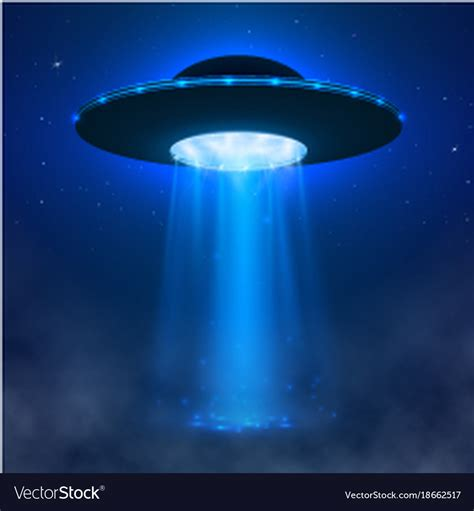 At the bottom section you will find svg animation. Ufo alien spacecraft with light beam and fog ufo Vector Image