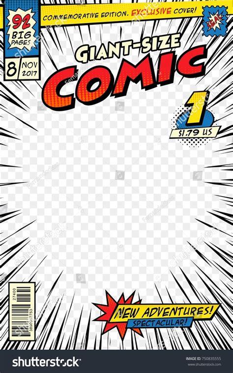 Comic Book Template Design Portfolio Template Free Comic Book Cover Template