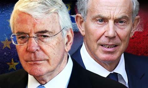 John Major and Tony Blair's 'absurd double act' to stop ...