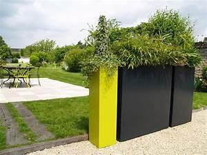 jardinieres en brise vue atelier so green jardinieres With voilage exterieur pour terrasse 0 brise vue retractable sur mesure