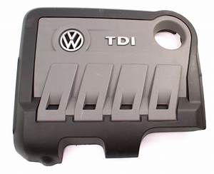 Tdi Engine Cover 12-14 Vw Passat Diesel - Genuine