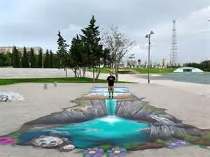 3D Floor Art Murals