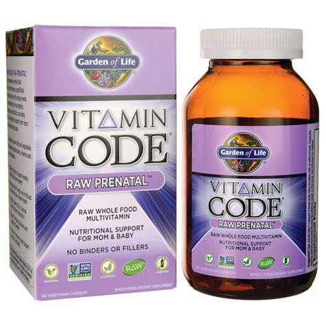 garden of vitamin code for garden of vitamin code prenatal 6 billion cfu 180