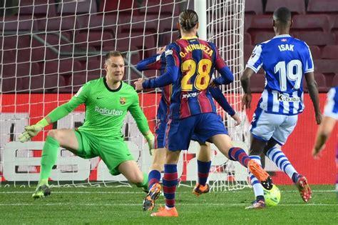 Barcelona - Real Sociedad: resumen, resultado y goles   La ...