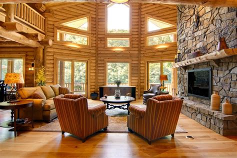 Great Rooms - Timberhaven Log & Timber Homes