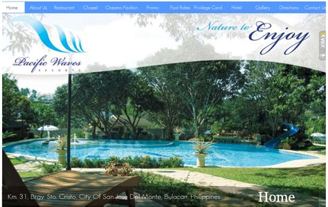 bulacan resorts philippines pacific waves resort  sto