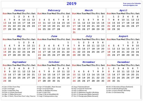hindu calendar tithi tyohar holidays festivals