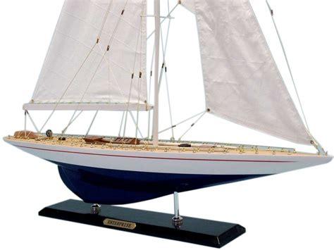 Enterprise Boat Company by Buy Wooden Enterprise Limited Model Sailboat Decoration 35