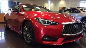 2017 Infiniti Q60 Red Sport 400 - Dynamic Sunstone Red ...  Red