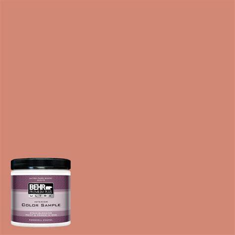 behr premium plus ultra 8 oz hdc wr16 02 rosy copper