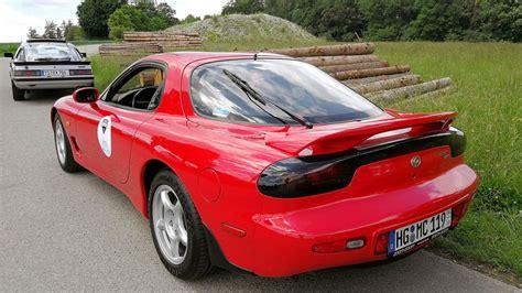 drove  pristine fd rx   mazdas european collection