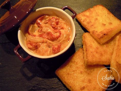 cuisiner polenta polenta rissolée sauce aux poivrons grillés la tendresse