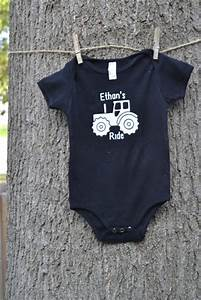 Because Every Little Boy Needs A Tractor Shirt  Or Ten