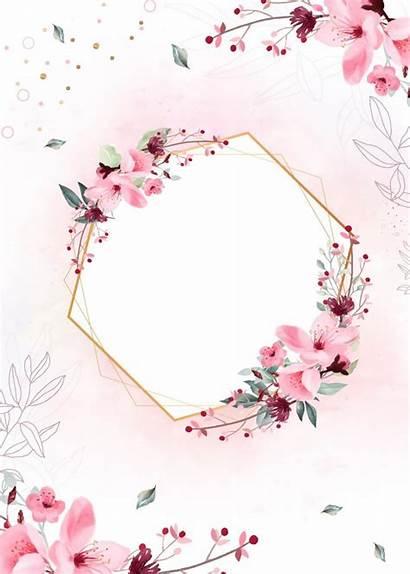 Planner Floral Capa Caderno Imprimir Frame Fondos