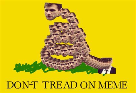 Don T Tread On Memes - gadsden flag don t tread on me know your meme