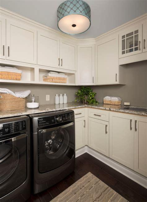 ksi designer jim mcveigh transitional laundry room
