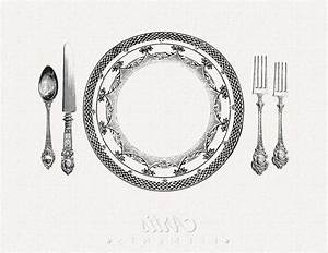 Dinner Place Setting Clipart (62+)